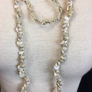 Jewelry - Mermaid Pearls / Pair Seashell Necklaces